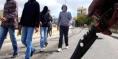 """""""الكريساج"""" بمحيط المؤسسة يخرج تلاميذ وتلميذات ثانوية علال بن عبد الله بسيدي عيسى للاحتجاج والتهديد بمقاطعة الدراسة"""