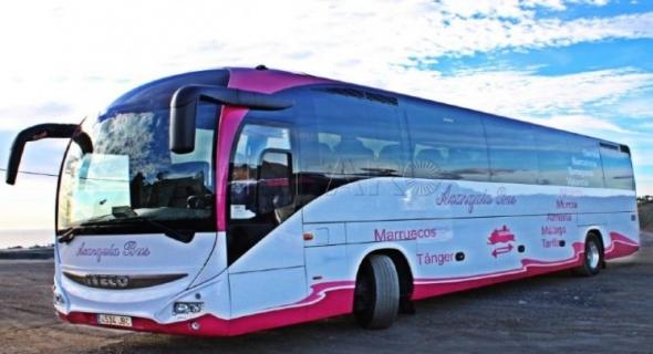 شركة إسبانية تفتح خطّاً بريا عبر الحافلات بين المغرب وإسبانيا وبأثمنة مناسبة