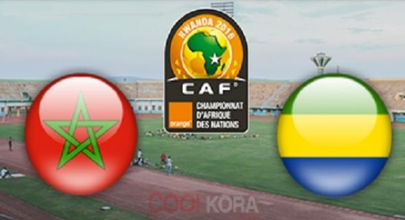 تعادل ثمين للمنتخب المغربي لكرة القدم أمام نظيره الغابوني