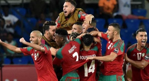 فيديو… أهداف مباراة المغرب وناميبيا 2-0 و تأهل الاسود الى نصف نهائي الشان