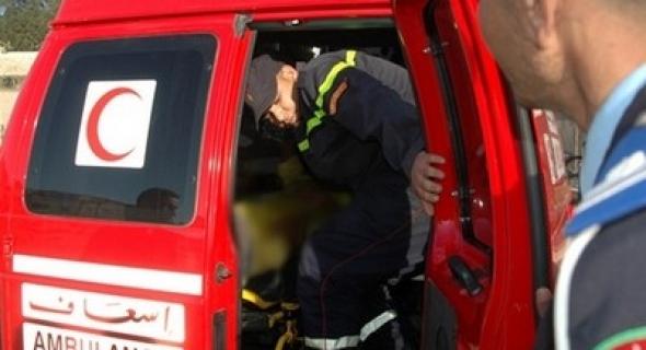 عاجل وياربي سلامة… سقوط عامل بناء من أعلى بناية وكالة بنكية ببني ملال وهذا ما وقع له !