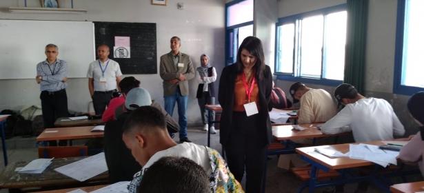 مديرة التعليم بعين الشق تقود مديريتها إلى التربع على عرش أعلى النتائج للامتحان الوطني الموحد لنيل شهادة الباكالوريا