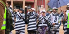غاديا وتشعل… اضراب وطني لأساتذة الزنزانة 9 ليومين يشل قطاع التعليم ومسيرة احتجاجية بشوارع الرباط -بيان-