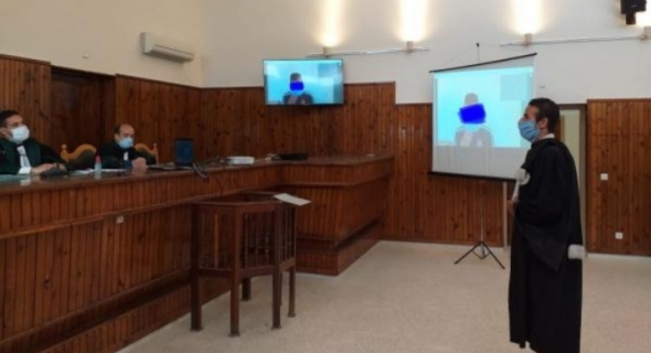 """المجلس الأعلى للسلطة القضائية :"""" محاكمة 7457 معتقلا عن بعد خلال 331 جلسة""""=بلاغ="""