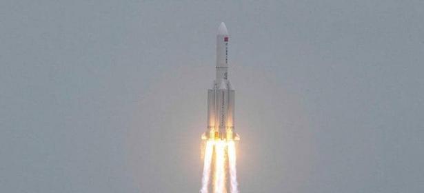 وأخيرا !!!… الصين تُعلن عن سقوط الصاروخ الخارج عن السيطرة