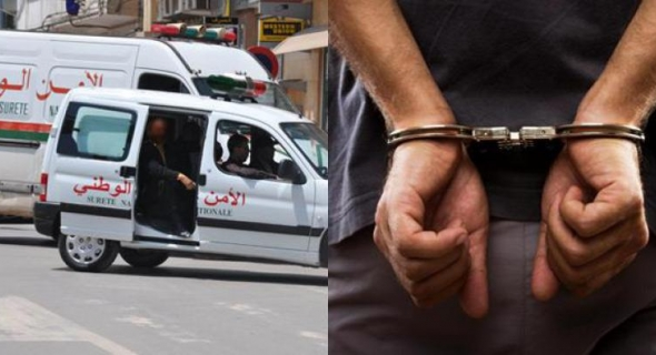 الأمن يعتقل 3 أشخاص ينظمون عمليات الهجرة السرية في سيارة متجهة لطنجة =بلاغ=