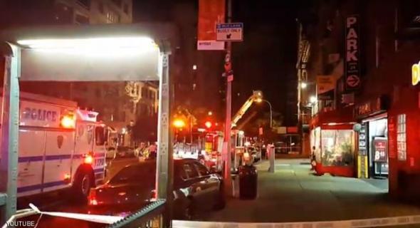انفجار بعبوة ناسفة يهز مانهاتن الأميركية