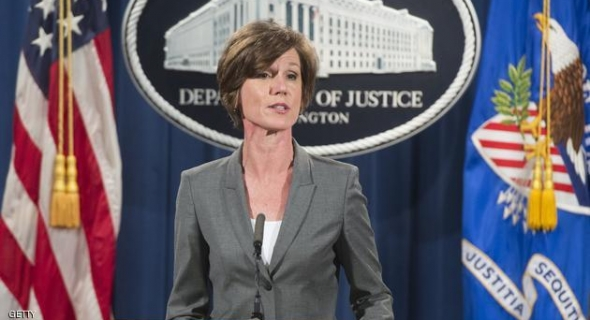 سابقة… وزيرة العدل الأمريكية ترفض تنفيذ قرار الرئيس ترمب بشأن اللاجئين والأخير يقيلها