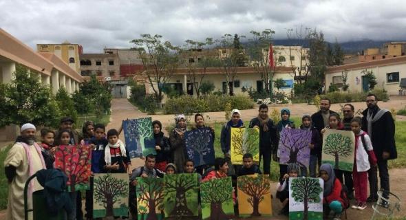ثانوية ابن تومرت باغرم لعلام تقيم أنشطة متنوعة في يوم الفن والابداع