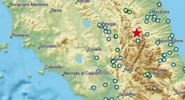 عاجل ..زلزال يضرب وسط إيطاليا