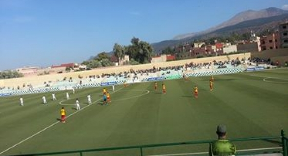 رجاء بني ملال يضيع فرصة للفوز بملعب الشهيد الحنصالي