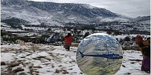 للمرة الرابعة… مروحية طبية تقل سيدة من جبال زاوية احنصال الى المستشفى الاقليمي لازيلال