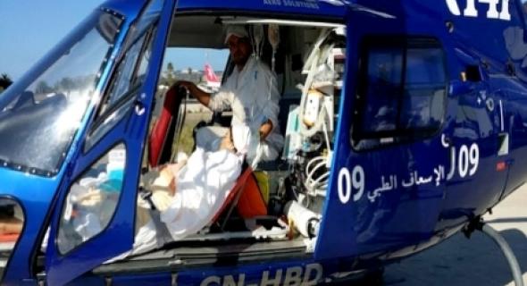 عاجل…للمرة الثانية… نقل ثلاثيني على متن هلكبتر من جبال واولى الى المستشفى الاقليمي لازيلال