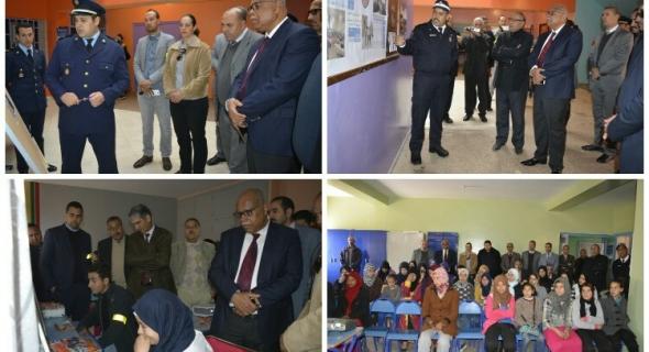 أزيلال تخلد اليوم الوطني للسلامة الطرقية بحضور جميع المتدخلين