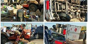 عاجل… عوتاني حادثة سير خطيرة ونقل المصابين لمستعجلات المستشفى الجهوي ببني ملال -الصور-