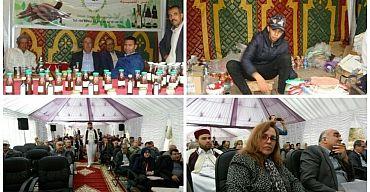 أنشطة ثقافية رياضية فنية خلال اليوم الثاني من مهرجان ايت ويرة للفرس بمدينة القصيبة