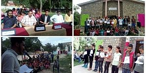 جمعيات مدنية وجماعة ناوور يحتفلون بالذكرى الثانية عشر لإنطلاق المبادرة الوطنية للتنمية البشرية