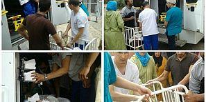 نقل مولود حديث الولادة يعاني من ضيق التنفس من أزيلال إلى المركز الاستشفائي الجامعي بمراكش