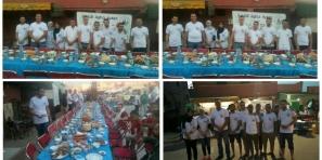 جمعيتا خطوة للتنمية ومواهب تنظمان افطار جماعي لفائدة المحتاجين – فيديو-