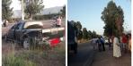 ياربي سلامة… اصطدام بين 3 سيارات خفيفة ونقل المصابين لمستعجلات بني ملال