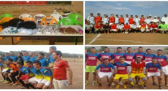فوز أولاد سالم بدوري لكرة القدم بالفقيه بن صالح و تكريم فعاليات رياضية