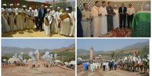 عامل اقليم ازيلال يشرف على اختتام فعاليات المهرجان السنوي للولي الصالح سيدي امحند امحند