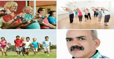 """الأستاذ البصيري يعد الحلقة الرابعة من سلسلة """"صحة و رياضة""""، وتتناول أهمية ممارسة النشاط البدني و الرياضي في تحسين نمط الحياة والحفاظ على الصحة"""