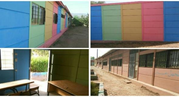 انطلاق عملية تأهيل مدرسة اولاد عطو بالمديرية الاقليمية للتعليم الفقيه بن صالح
