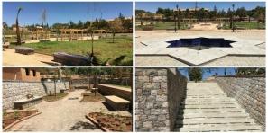 جولة بحديقة 20 غشت بازيلال والساكنة تعتبر المكان متنفس حقيقي لهم ولأطفالهم