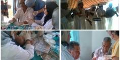 78 مستفيذ  بحفل إعذار جماعي بالزواير والساكنة تستحسن هذه الخطوة النبيلة من طرف جمعية الزواير للتنمية المحلية والطاقم الطبي