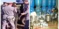 """عاجل… الدرك الملكي ببني ملال والفقيه بن صالح يعتقل """"بزناس"""" خطير و يفكك معمل لتصنيع """"ماحيا"""" ويحجز معدات  و 5 الاف لتر و8 أطنان من التين المخمر"""