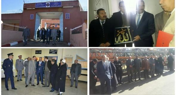 العطفاوي عامل إقليم أزيلال يترأس لجنة رفيعة لتفقد أحوال نزلاء السجن المحلي