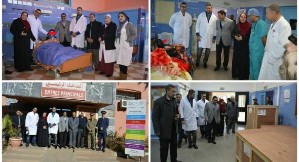 المستشفى الاقليمي لازيلال ينظم حملة طبية تستهدف الاطفال و امراض العيون