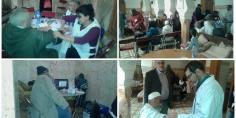 مبادرة مزيانة… 530 مستفيد و مستفيدة من خدمات قافلة طبية من تنظيم جمعية حجرة بلا حدود بقصبة تادلة