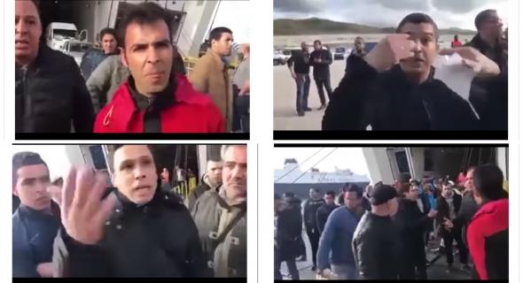 بالفيديو… لمغاربة لي فالخارج حظيو راسكم… مغاربة محايحين بسبب سرقة أموالهم من سياراتهم داخل الباخرة