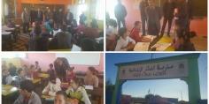 حمادي أطويف يتفقد تلاميذ مدرسة النكار بمديرية الفقيه بن صالح بعد حالات الاختناق وبلاغ يروي تفاصيل ماوقع
