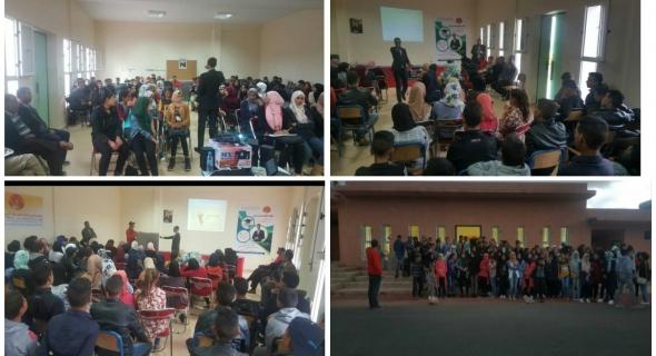 الجمعية المغربية للإغاثة المدنية تنظم ملتقى التفوق الدراسي الأول باقليم أزيلال