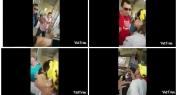 """برافو وبالفيديو الحصري… الحطاطي وايت الخدير وبرلمانية """"حايحو"""" رفقة الوفد المغربي على وقفة البوليساريو وطردوهم من منتدى البرازيل"""
