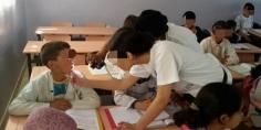 مجموعة من الأنشطة التحسيسية لفائدة التلاميذ حول صحة الفم والأسنان بجهة بني ملال خنيفرة بمناسبة الاحتفال بالأسبوع الوطني للصحة المدرسية