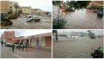 تفاصيل ليلة سوداء بقصبة تادلة… أمطار و سيول طوفانية غمرت محلات تجارية و مساكن و كشفت عن اختلالات ببعض النقط السوداء
