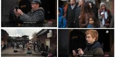 """بالفيديو… أجمل وأروع أداء لأغنية """"اناس اناس"""" للهرم رويشة وسط الشارع بلندن وانبهار اللندنيين بكلماتها"""