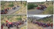 بالفيديو… مسيرة احتجاجية حاشدة مشيا على الأقدام لساكنة مجموعة من دواوير جبال أزيلال وهذه مطالبهم لعامل الاقليم