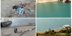 بالصور… كارثة  تلوث مياه  بحيرة بين الويدان  تثير مخاوف فعاليات المجتمع المدني
