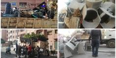 الحملة مستمرة بلا هوادة… السلطات المحلية ببني ملال تحجز أكثر من 1000 كرسي ومائدة للمقاهي بمختلف الشوارع -صور-