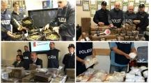 الشرطة الإيطالية تقوم بتفكيك شبكة تحت اشراف الشرطة الدولية و تتمكن من حجز كميات هائلة من المخدرات