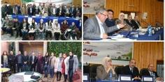 تقرير حول اليوم الدراسي التواصلي الإعلامي حول المساهمة في الخطة الوطنية في مجال الديمقراطية و حقوق الإنسان