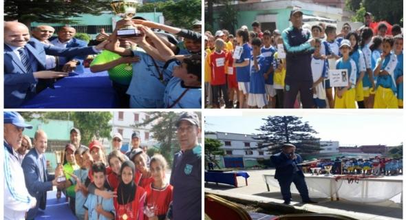 نهائي كأس ولي العهد الأمير مولاي الحسن في رياضة العاب القوى للأطفال في النسخة الخامسة