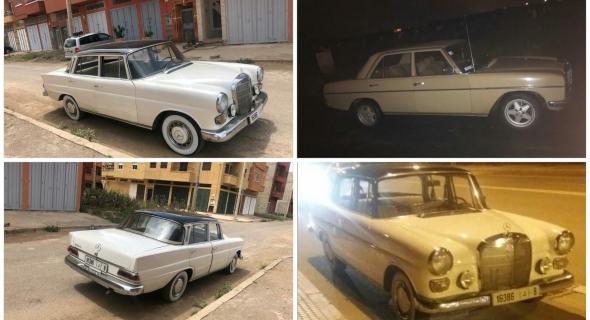 بالصور… ملاليون يحتفظون برونق وجمالية سيارات عتيقة يعود تاريخها لستينيات القرن الماضي