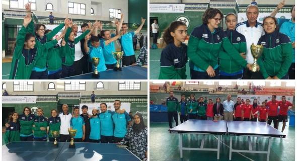 ألف مبروك… رجاء بني ملال لكرة الطاولة يفوز ببطولة المغرب