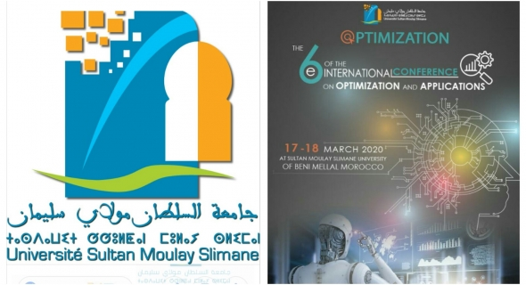 جامعة السلطان مولاي سليمان تنظم المؤتمر العالمي للمثللة وتطبيقاتها – النسخة السادسة وهذا اخر موعد للتسجيل